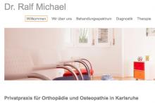 Praxis für Orthopädie und Osteopathie  Dr. Ralf Michael